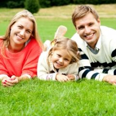 Young family life insurance