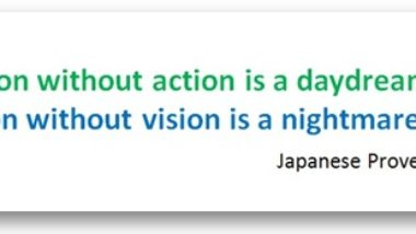 vision action quote